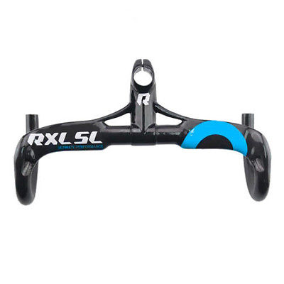 RXL SL Carbon Road Bike Integrated Handlebar With Stem Carbon Handlebar 90X400