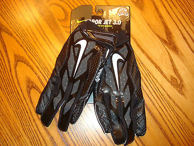 NIKE VAPOR JET 3.0 FOOTBALL GLOVES ADVANCED SKILL GLOVE WITH MAGNIGRIP ADULT LG