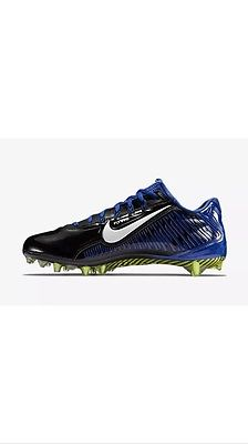 Nike Vapor Carbon Elite 2.0 TD Football Cleats Blue/Black 657441 014 Sz 11