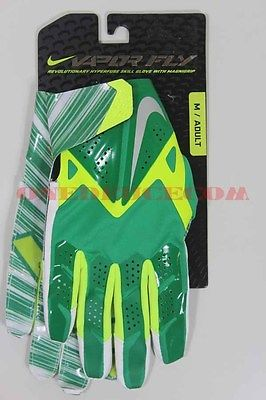 Nike Football Gloves Vapor Fly Court Green GF0106 370 New Size MED
